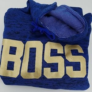 NWTJonathan Martin BOSS Marble Cowl NeckSweatshirt